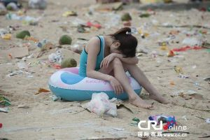 Dirtiest Beach in the world? 363 tons of Trash dumped in just one Weekend
