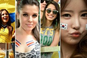 Photos of the hottest females fans world cup 2014 (19 pics)