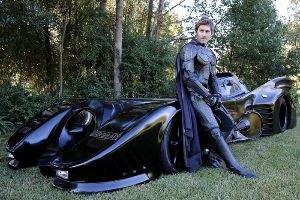 This Man Roams the Street With His Legal Batmobile, Oh Yes!