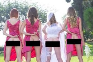 `Bridesmaid Buttshot` is currently trending on instagram and twitter (5 Photos)
