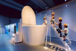 The New Museum in Tokyo Is Really Weird and Disgusting? But Somehow The Kids Love It!