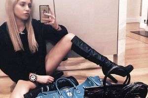 Smug and delusional 'Rich Kids of Instagram' bathe in champagne and stuff wads of cash in their pockets to show off