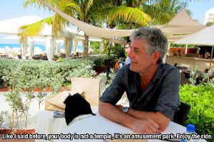 Enjoy The 15 Awesome Pieces Of Life Advice From Anthony Bourdain