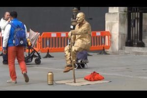 TRICK REVEALED! The Incredible Levitating Man And How It`s Done