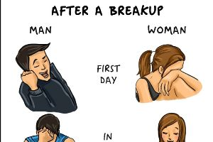 Amazing Comics Describe The Differences Between Men and Women
