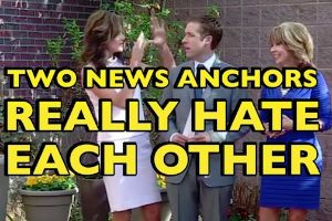 'Please don`t ever touch me again'. 2 news anchors hate each other, and they arent afraid to show it on live tv