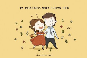 `12 Reasons Why I Love Her` By Lingvistov