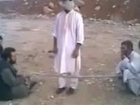 Funny Blindfold Rope Pass - Afghan Games