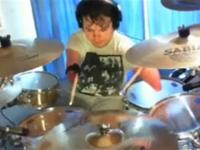 Unbelievable No hand drummer covers Hot Right Now