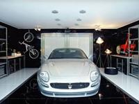 If you own a Maserati you need a garage like this.