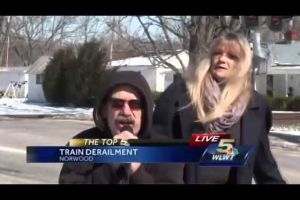 I had to share this! TOO FUNNY!! Reporter interrupted during live broadcast.