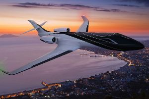 Windowless Jet Makes You See Panaromic View Outside of It! I Totally Want to Ride This!