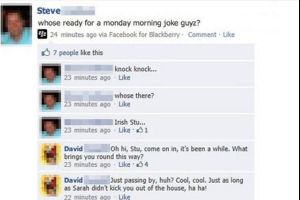 One Of The Best `Knock Knock` Jokes Ever (6 pics)