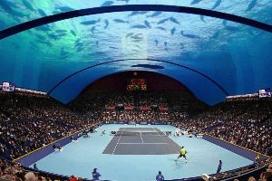 How Awesome! The World`s First Underwater Tennis Court Is Set To Be Built In Dubai