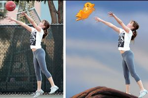 Photo of Jennifer Lawrence Playing Basketball Has Become A Target For Photoshop Trolls and They Are Hilarious