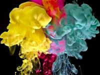 Beautiful Effects When Paint Dropped into Water