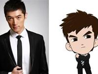 Chinese celebrities and their Chibi characters made by fans