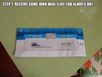 How to troll the junk mail sender like a boss (5 pics)