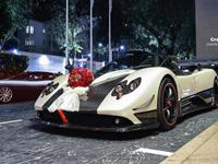 The Most Expensive Wedding car in Singapore History - Pagani Zonda Cinque 2 of 5