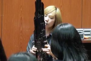 Girl Plays Mario Theme on Ancient Chinese Instrument
