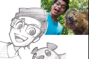 Talented Artist Turns Strangers Into Anime Characters (14 pics)