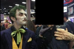 This is the scariest Joker mask ever made. It`s giving me the creeps!!!
