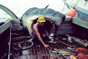 Behind the scenes of JAWS. I don`t care if that`s fake, it`s still terrifying (HD photos)