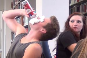 This `Loud Eating in The Library` Prank Will Test Your Anger Management Like Nothing Else.