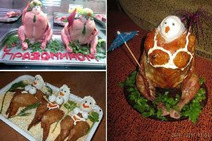 Insane Food Art From Russia! I am Confused..I am Confused...