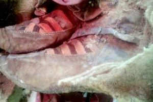 People Freaking Out Over 1500-Year-Old Mummy Found Wearing Adidas Shoes. Wait! Adidas Founded 92 years ago right?