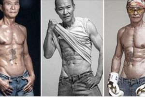 This 61 year-old Chinese grandpa is sure has more abs than many of you (7 pics)