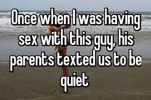 20 of the Most Embarrassing Sexual Encounters That You`ll Ever Hear People Confess. #7 WTF? Aint They Having Sex?