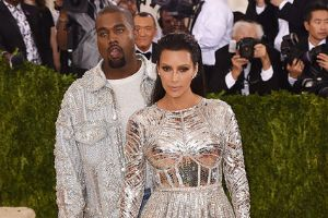 Kim And Kanye Hit The Red Carpet Looking Like Sparkly Buffoons, Instantly Got Turned Into Priceless Memes