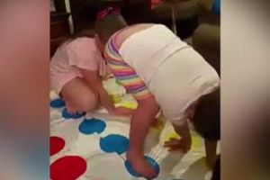 Little Girl Destroys Sister With A MASSIVE Fart