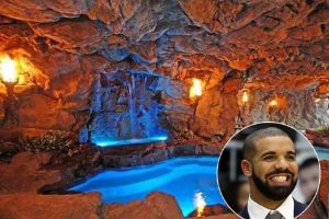 Inside Drake`s $8 Million YOLO Estate That Has One Of The Most Luxurious Pools In The World (15 pics)