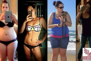 No pain, no gain! 40 people with incredible body transformations will inspire you to go to the gym.