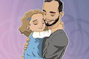 Dad Illustrates His Relationship With His Daughter In An Incredibly Sweet Way