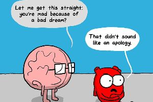 14 Funny Comics Will Tell You The Real Struggle Between the Heart and the Brain (14 Pics)