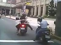 Funy and Weird road accidents in Asia