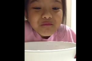 Little Viet Girl Water Prank Fail