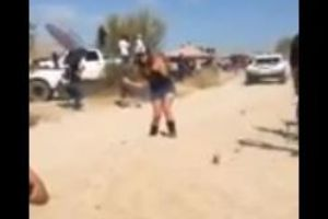 Girl nearly gets killed trying to take the perfect picture