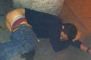 16 people passed out in public to help you celebrate National Napping Day!