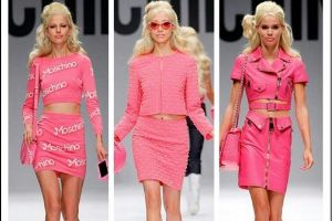 Moschino new collection definitely dedicated to all the pink lovers!