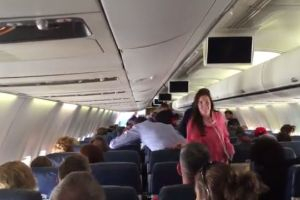 This Is What Happens If You're On A Plane And You Joke About Having Ebola (pics)