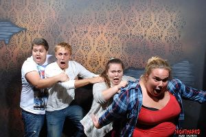 The funniest haunted house reaction photos ever captured. This will make your day.