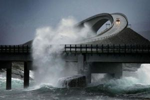 I Have No Idea How People Can Possibly Drive On This Highway. OMG