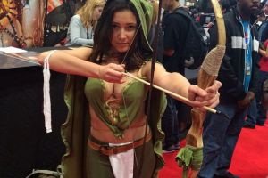 Say Hello to the Hottest Babes in this Year New York Comic Con!