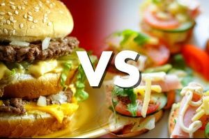 Watch how people react when they think they eat organic food, but infact it is McDonald`s.