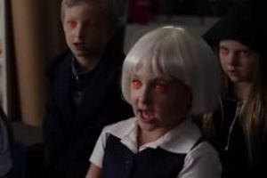 Here Is What Happens When All The Creepiest Kids From Horror Movies Go To One Daycare