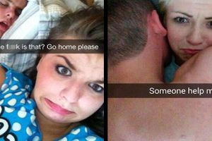 After sex selfies are a thing now? These selfies are priceless...